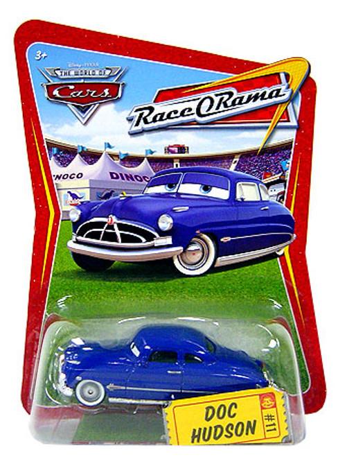 Disney Cars The World of Cars Race-O-Rama Doc Hudson Diecast Car #11