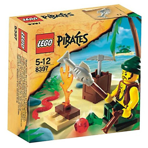 LEGO Pirates Pirate Survival Set #8397