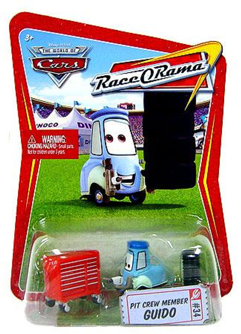 Disney Cars The World of Cars Race-O-Rama Pit Crew Member Guido Diecast Car #34
