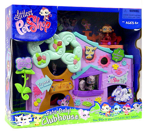 Littlest Pet Shop Pets Only Clubhouse Exclusive Playset