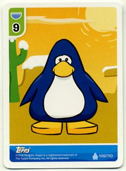 Club Penguin Card-Jitsu Basic Series 1 Naked Penguin [Random Color]