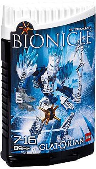LEGO Bionicle Glatorian Strakk Set #8982