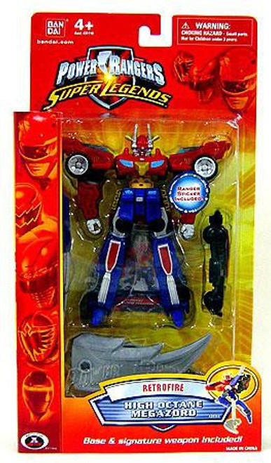 Power Rangers Super Legends Retrofire Series High Octane MegaZord Action Figure