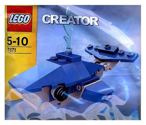 LEGO Creator Whale Mini Set #7871 [Bagged]
