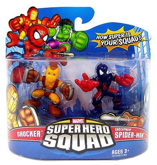 Marvel Super Hero Squad Series 11 Shocker & Shockproof Spider-Man Action Figure 2-Pack
