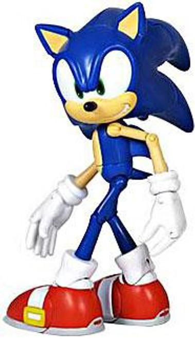 Sonic The Hedgehog Super Posers Sonic Action Figure [Modern, Blue]