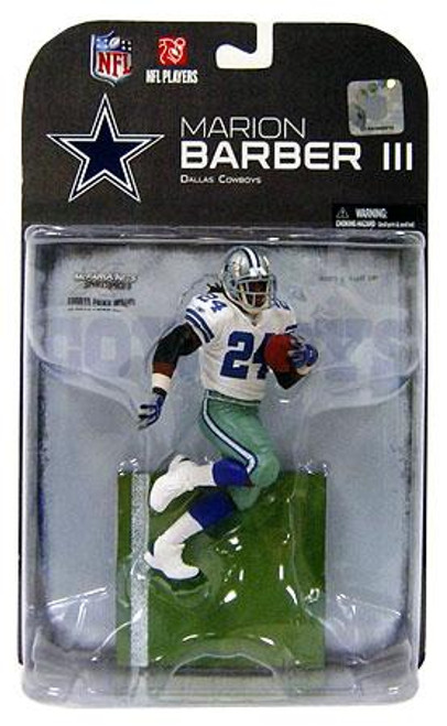 McFarlane Toys NFL Dallas Cowboys Sports Picks Series 19 Marion Barber Action Figure [Blue Glove Variant]
