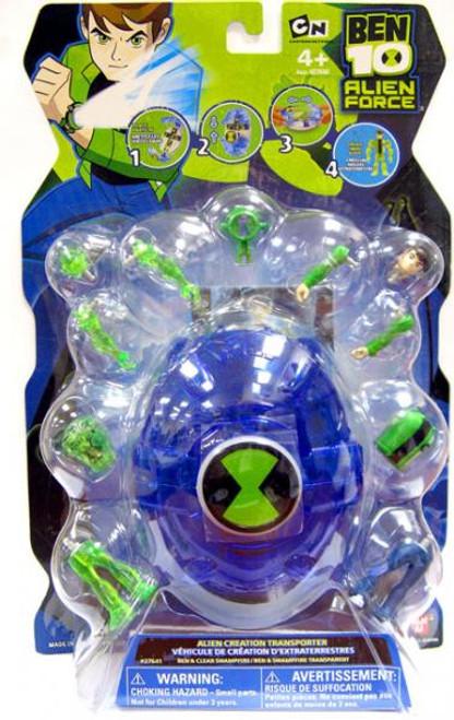 Ben 10 Alien Force Alien Creation Transporter Set [Blue]