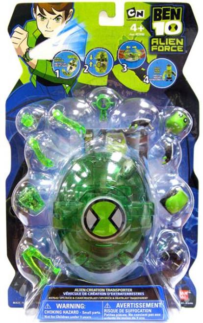 Ben 10 Alien Force Alien Creation Transporter Set [Green]