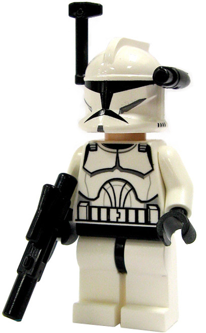 LEGO Star Wars Loose Clone Trooper Minifigure [With Targeter Loose]