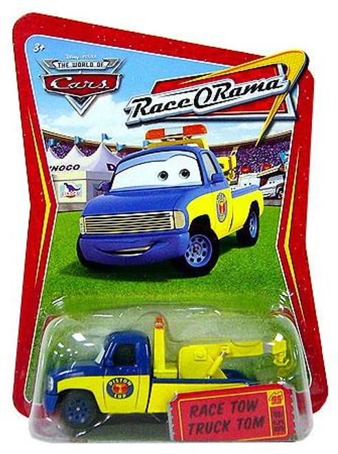 Disney Cars The World of Cars Race-O-Rama Race Tow Truck Tom Diecast Car #56
