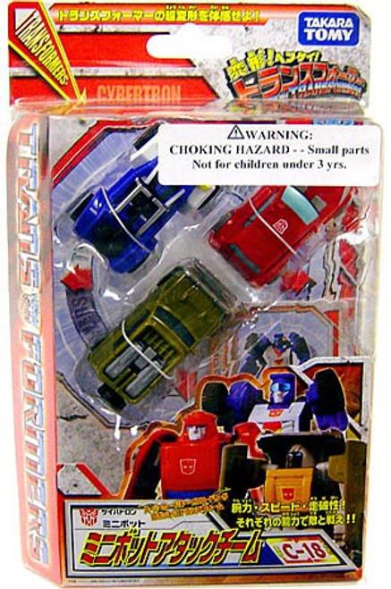 Transformers Japanese Classics Henkei Deluxe Minibots Attack Team Set Deluxe Action Figure Set C-18