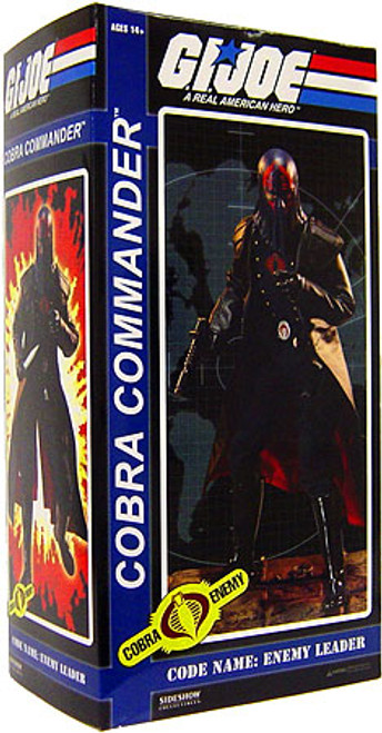 GI Joe Cobra Enemy Cobra Commander 1/6 Collectible Figure
