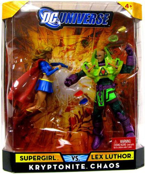 DC Universe Supergirl Vs Lex Luthor Exclusive Action Figures