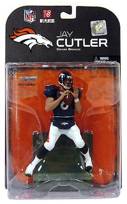 McFarlane Toys NFL Denver Broncos Sports Picks Series 19 Jay Cutler Action Figure [White Pants Variant]