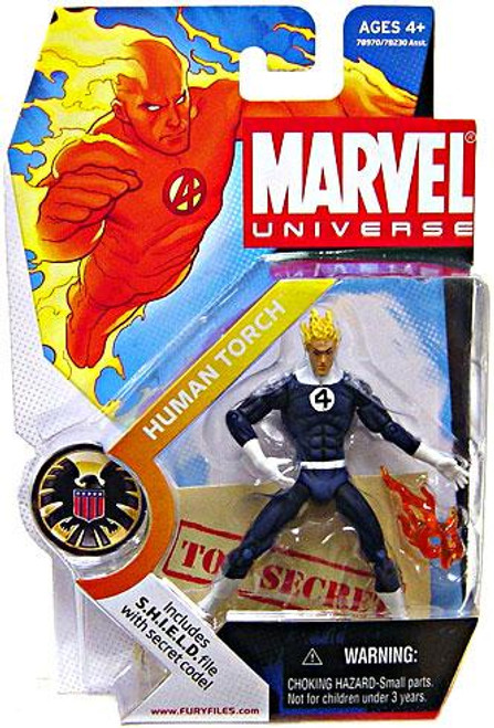 Marvel Universe Series 1 Human Torch Action Figure #11