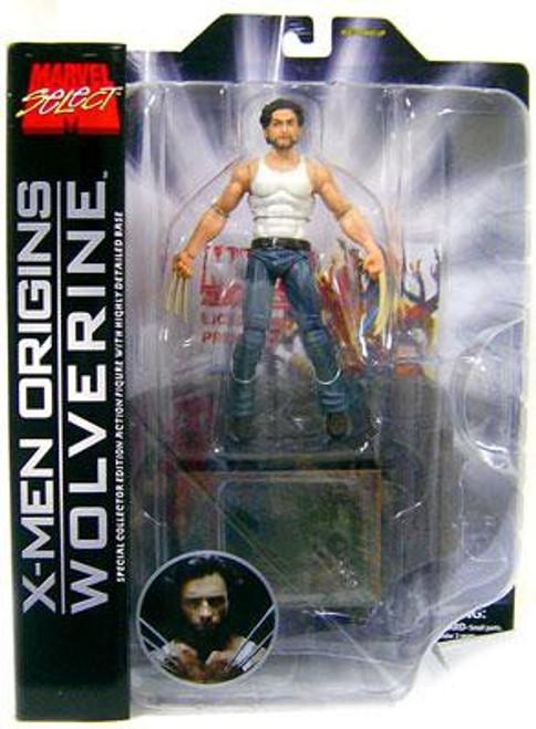 X-Men Origins Marvel Select Wolverine Action Figure [X-Men Origins]