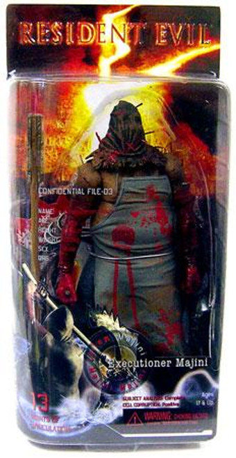 NECA Resident Evil 5 Series 1 Executioner Majini Action Figure