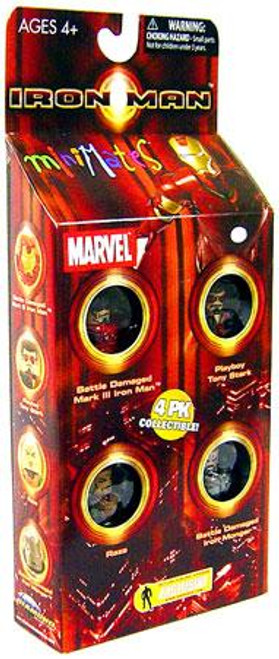 Marvel Minimates Exclusives Iron Man Exclusive Minifigure 4-Pack