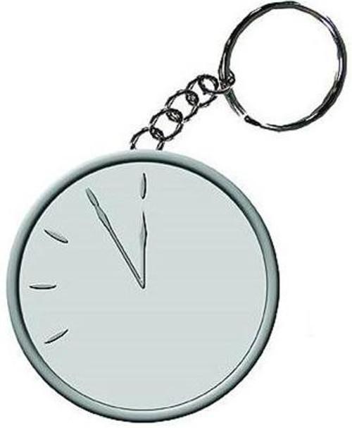 NECA Watchmen Doomsday Clock Metal Keychain