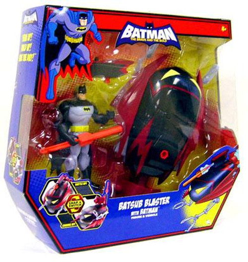 The Brave and the Bold Batsub Blaster with Batman Action Figure Set