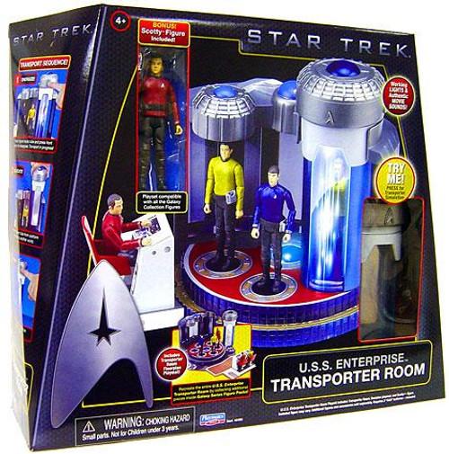 Star Trek 2009 Movie U.S.S. Enterprise Transporter Room Action Figure Playset