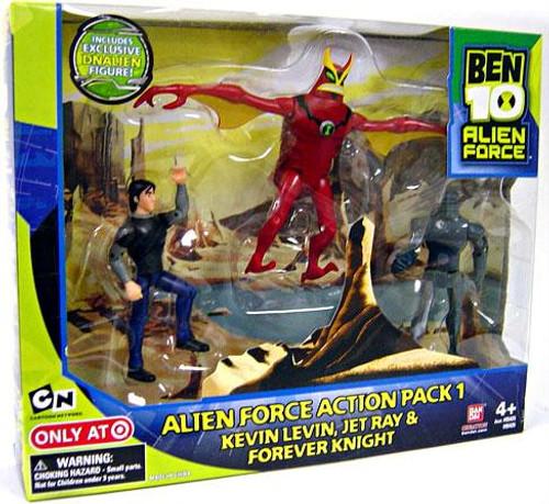 Ben 10 Alien Force Action Pack 1 Exclusive Action Figure Set