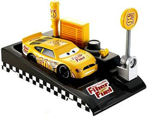 Disney Cars Pit Row Race-Off Fiber Fuel No. 56 Diecast Car [Includes Launcher]