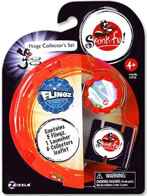 Skunk Fu Flingz Collector's Set
