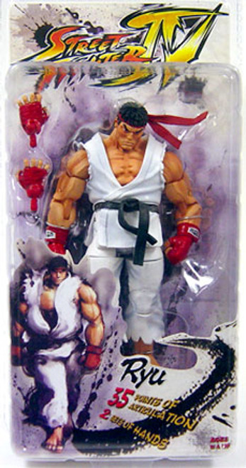 NECA Street Fighter IV Series 1 Ryu Action FIgure