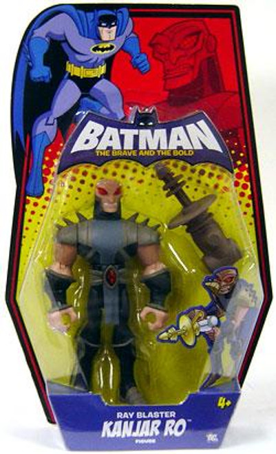 Batman The Brave and the Bold Ray Blaster Kanjar Ro Action Figure