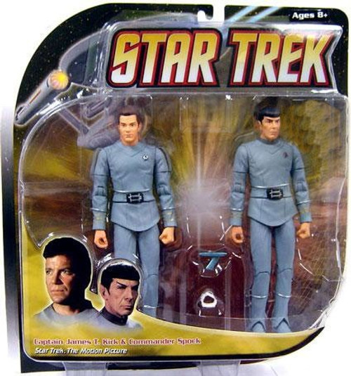 Star Trek The Motion Picture Kirk & Spock Exclusive Action Figure 2-Pack [All Gray]