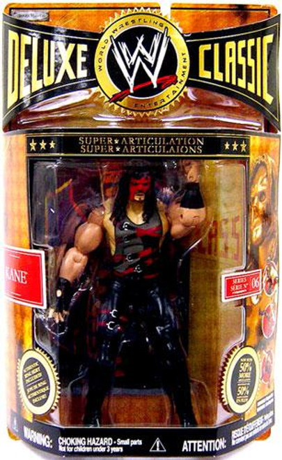 WWE Wrestling Deluxe Classic Superstars Series 6 Kane Exclusive Action Figure