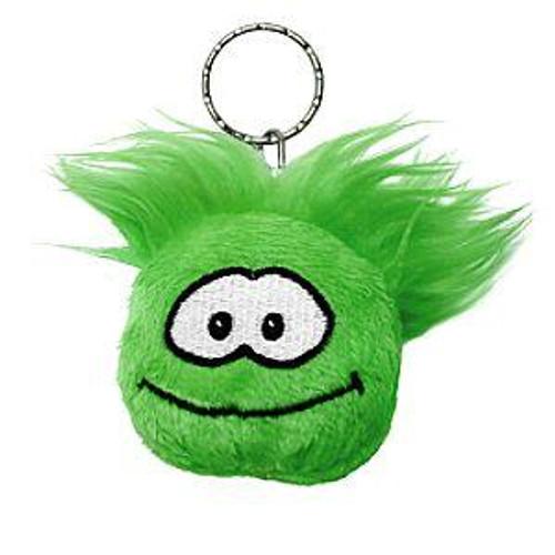 Club Penguin Green Puffle 2-Inch Plush Keychain