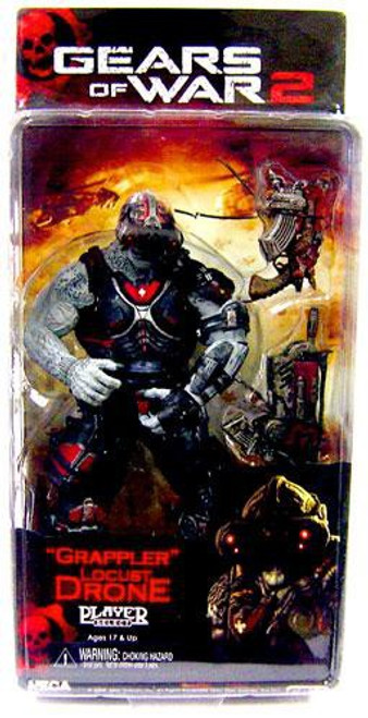 NECA Gears of War 2 Series 3 Locust Drone Action Figure [Grappler]
