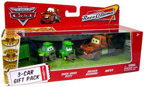 Disney Cars The World of Cars Multi-Packs Chick Hicks Crew 3-Car Gift Pack Diecast Car Set