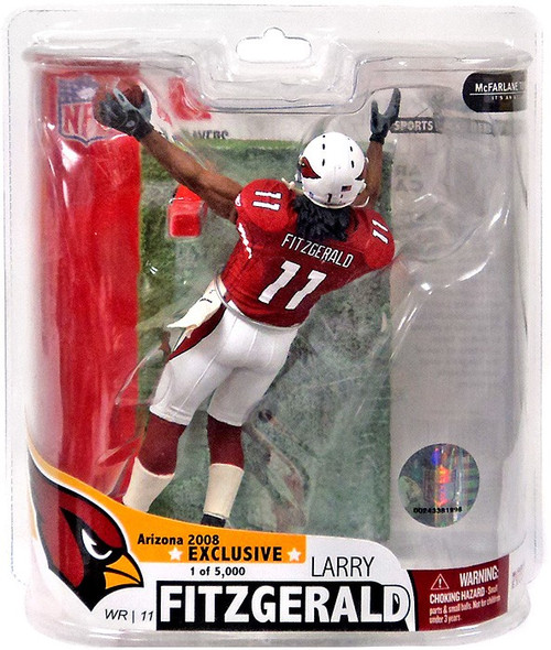 McFarlane Toys NFL Arizona Cardinals Sports Picks Exclusive Larry Fitzgerald Exclusive Action Figure