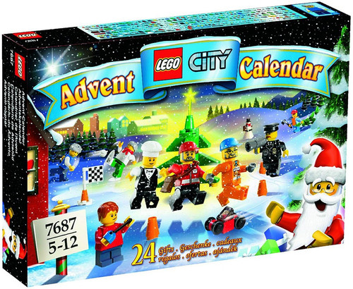 LEGO City 2009 Advent Calendar Set #7687