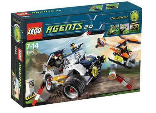 LEGO Agents 4-Wheeling Pursuit Set #8969