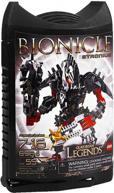 LEGO Bionicle Glatorian Legends Stronius Set #8984
