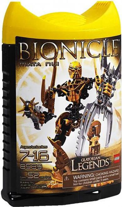 LEGO Bionicle Glatorian Legends Mata Nui Set #8989