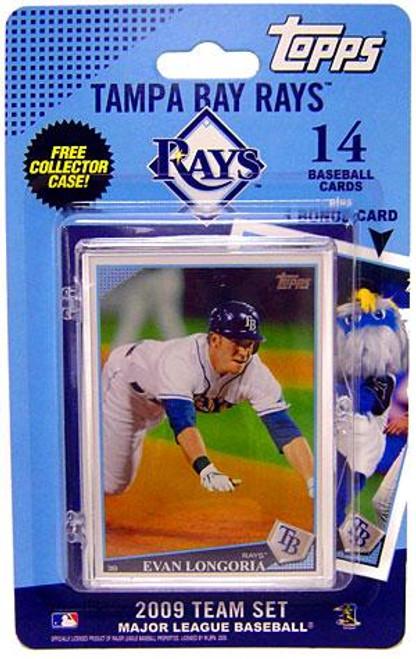 MLB 2009 Topps Baseball Cards Tampa Bay Rays Team Set