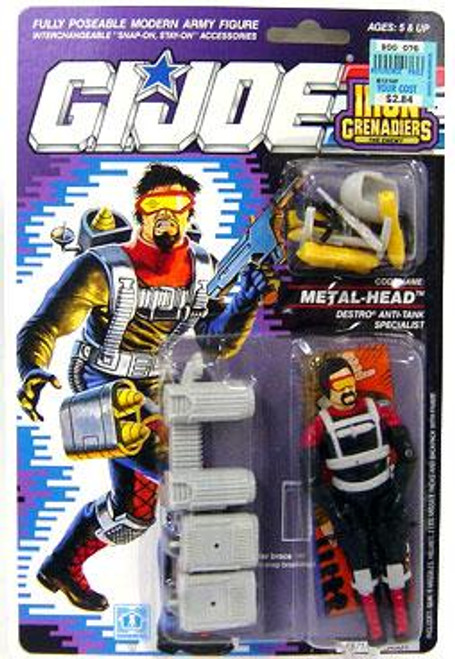 GI Joe Vintage Metal-Head Action Figure [Version 1]