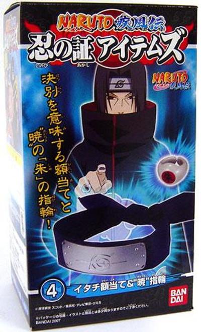 Naruto Itachi Scarred Headband & Ring