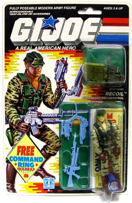 GI Joe Vintage Recoil Action Figure