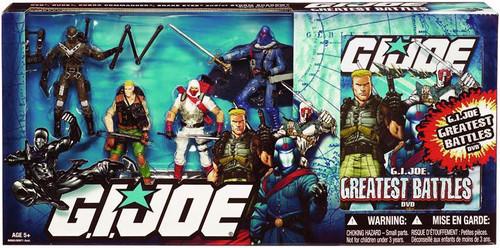 GI Joe 25th Anniversary G.I. Joe Greatest Battles DVD Action Figure Set