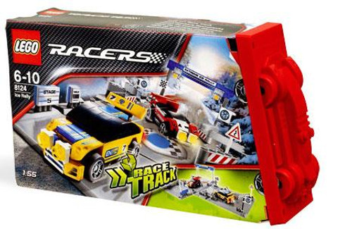 LEGO Racers Fold Out Race Tracks Ice Rally Set #8124