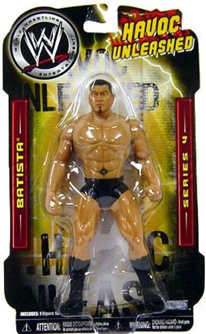 WWE Wrestling Havoc Unleashed Series 4 Batista Action Figure