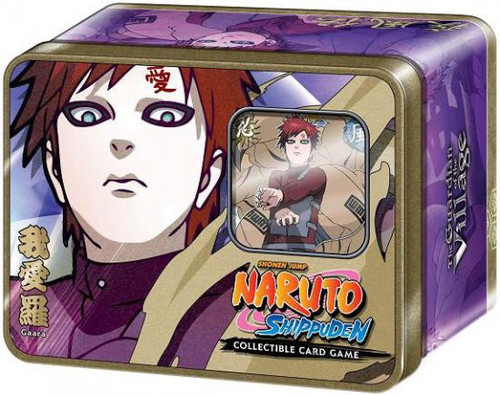 Naruto Shippuden Card Game Guardian of the Village Gaara Collector Tin