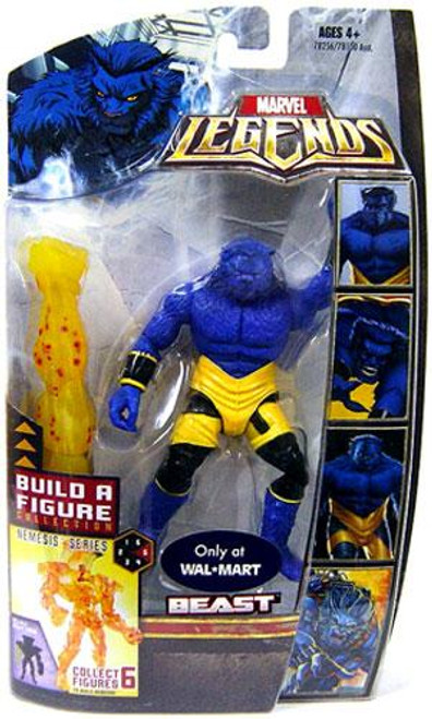 Marvel Legends Nemesis Build a Figure Beast Exclusive Action Figure
